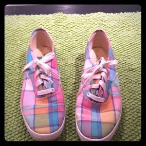 KEDS pastel plaid vintage shoes